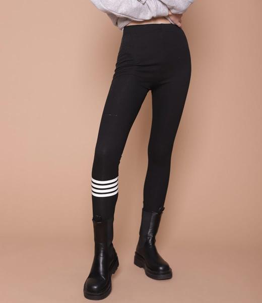 TB осень и зима четыре бар вязание рейтузы носок верхняя одежда эластичность плотно бедро ноги йога спортивные брюки канадские женщины бархат